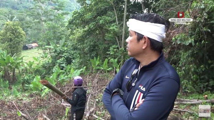 Warga Dengar Bunyi Suling di Gunung Sanggabuana, Kang Dedi Bereaksi; Itu Tempat Kanjeng Prabu