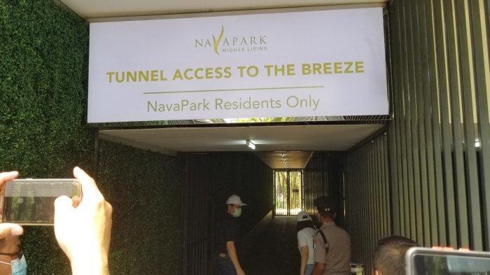 KEREN BANGET! Perumahan NavaPark Kini Punya Terowongan Langsung ke The Breeze BSD