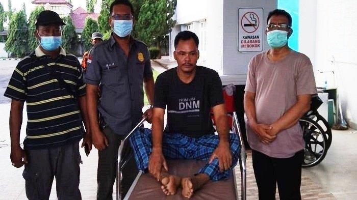 Tak Terima Motor Dipakai, Ayah di Ogan Komering Ilir Bacok Leher Putri Kandung Sampai Terluka Parah