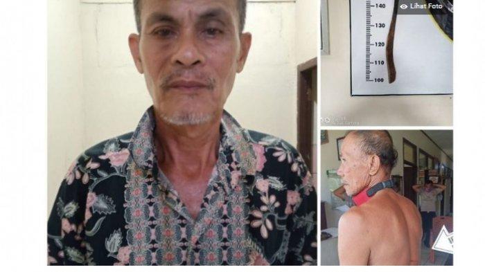 Dendam Sering Dipelototi, Kakek 62 Tahun di Sumsel Tebas Tetangga Pakai Parang, Begini Kronologinya