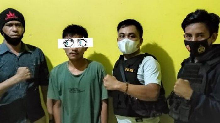 Tersangka rudupaksa di Banggai Laut, Sulawesi Tengah berhasil diamankan setelah hampir sebulan kabur.