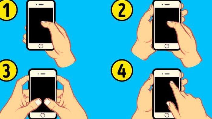 Tes Kepribadian - Sifat Seseorang Bisa Dilihat dari Cara Pegang Ponsel, Ini Penjelasannya