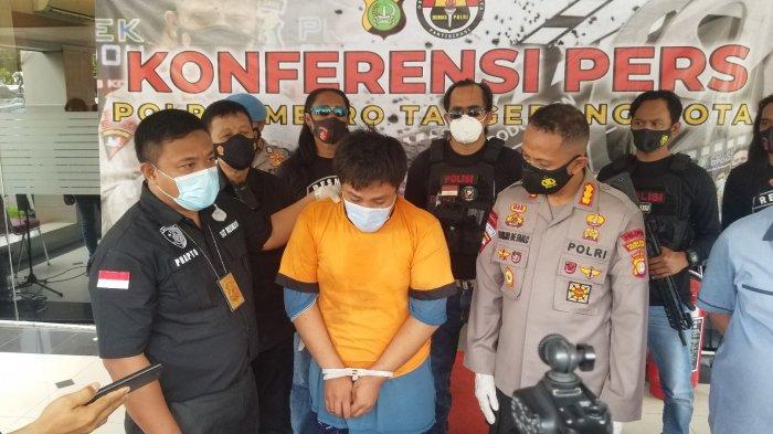 Begal di Tangerang Mengaku Dihantui Arwah Korban, Motor Emak-emak Tabrak Tembok:Baru Pertama Beraksi