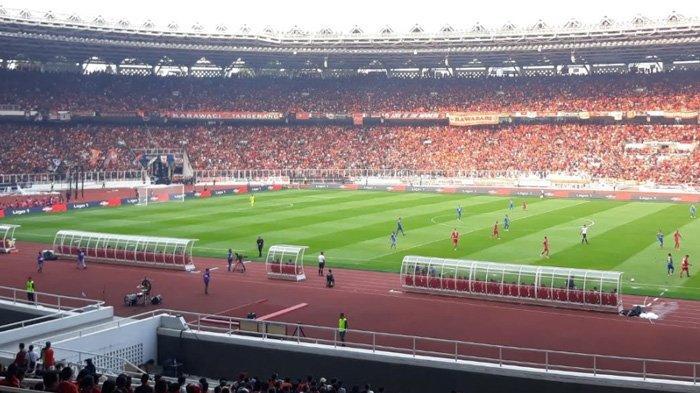 Tensi Pertandingan Tinggi, The Jakmania 'Teror' Persib Bandung Selama 90 Menit di SUGBK