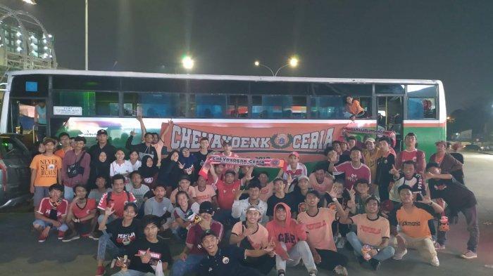 The Jakmania Sub Cipayung Dukung Langsung Persija Jakarta Vs Persipura di SUGBK, Ini Harapannya