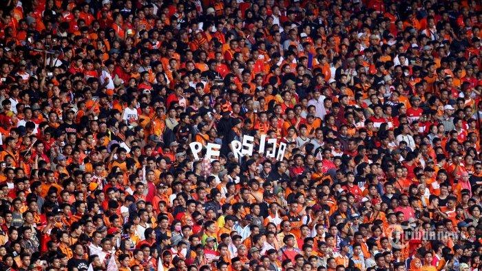 Jelang Leg Kedua Final Piala Menpora Persija Jakarta VS Persib, The Jak Mania Kemayoran Opmtiis