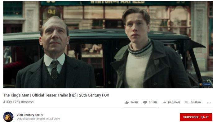 Tayang di Hari Valentine, Film The King's Man Hadirkan Voldemort-Harry Potter dan Phillip-Maleficent
