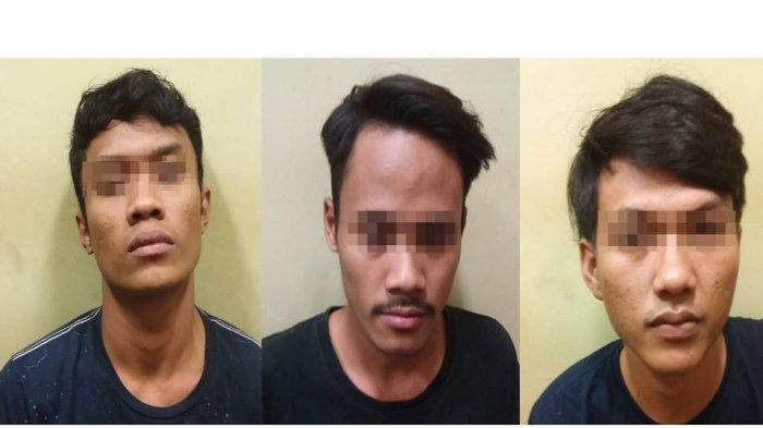 Kantongi 10 Paket Ganja, Tiga Pemuda Diringkus Polisi