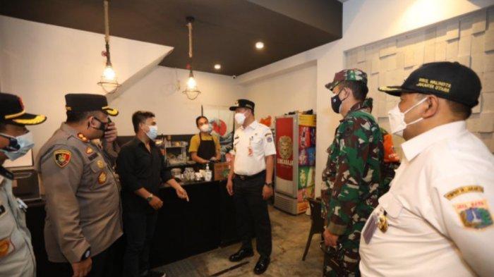 Langgar Aturan PPKM, Dua Tempat Usaha Ditutup 3 Hari di Kelapa Gading Timur