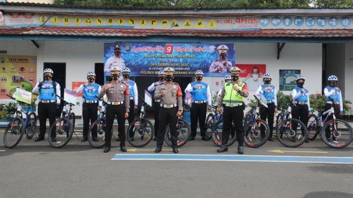 Tim Gowes Polisi di Tangerang Jangkau Wilayah Pelosok dan Gang Saat Operasi Zebra 2020