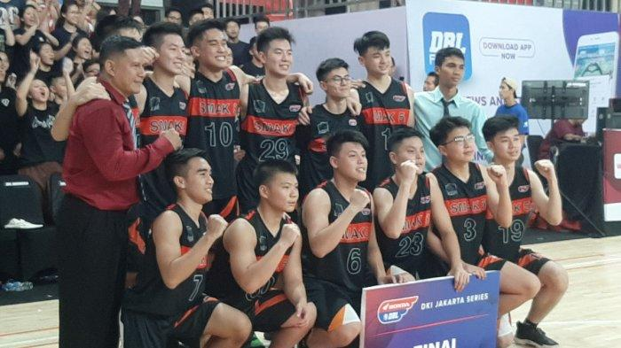 SMAK 5 Penabur Dua Kali Lolos ke Babak Final Honda DBL DKI Jakarta North Region