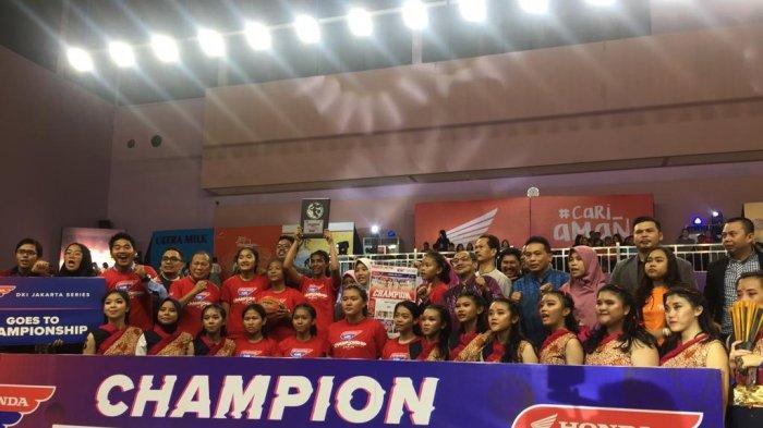 Tim Basket Putri Boedoet Juarai Honda DBL DKI Jakarta Series North Region 2019