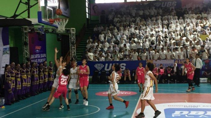 Honda DBL DKI Jakarta Series: Tim Basket Putri SMAN 43 Kalah Mutlak Dari SMAN 70