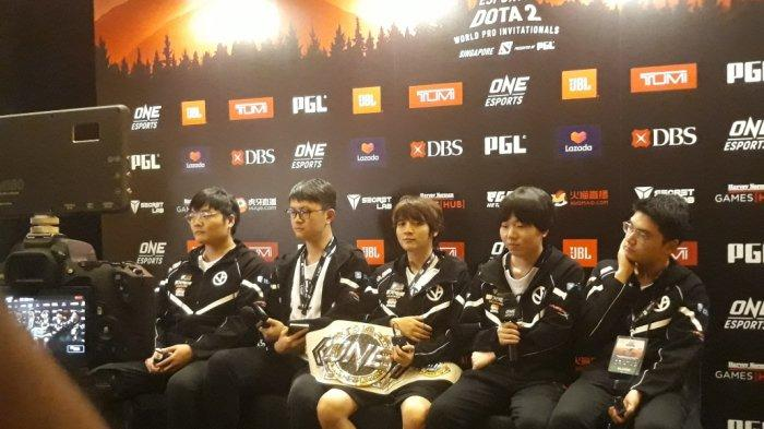 Vici Gaming Sukses Raih Gelar Juara ONE Esports Dota 2 World Pro Invitational