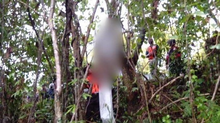 Bulewong ditemukan tewas gantung diri di pohon Ketapang