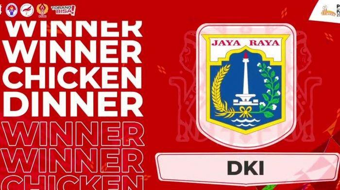Tim PUBG Mobile DKI Jakarta Untuk Sementara Puncaki Grup A Pra PON XX Papua Cabor Esports