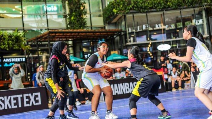 SMAN 61 Jakarta Sukses Tumbangkan SMAN 3 Jakarta (B) di Ajang Mainbasket 3X3 Indonesia Competition