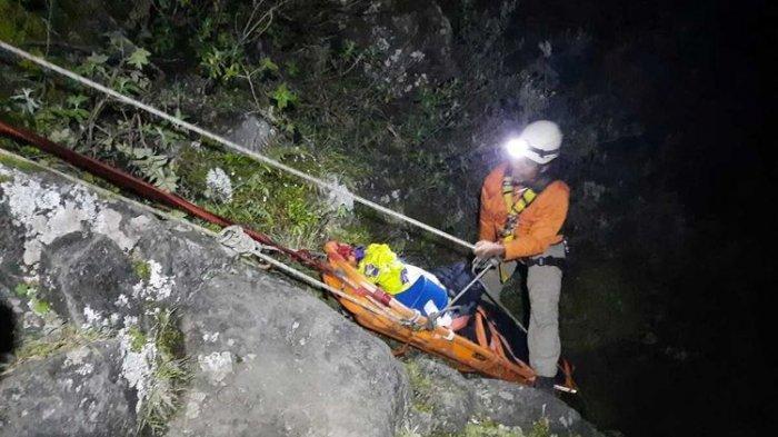 Detik-detik 6 Pendaki Gunung Lampobattang yang Terjatuh ke Jurang, Berhasil Diselamatkan