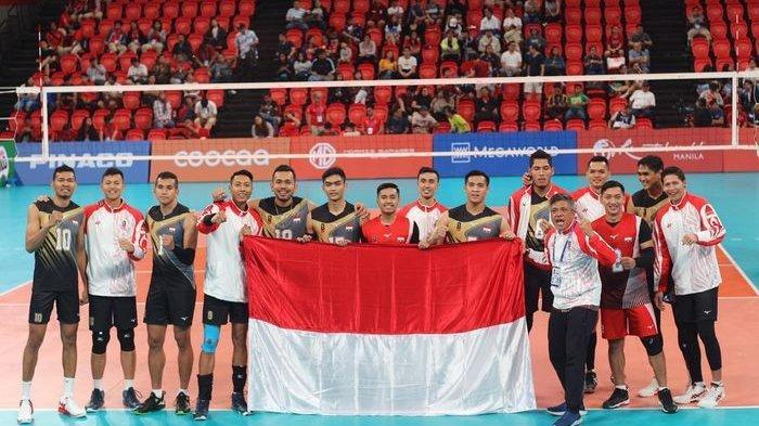 Live Streaming Final Voli Putra Sea Games Indonesia Vs Filipina, Peluang Emas Usai Thailand Kalah
