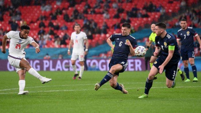 Hasil Euro 2020: Inggris vs Skotlandia Berakhir 0-0, Harry Kane cs Hanya Catatkan 1 Shot on Target