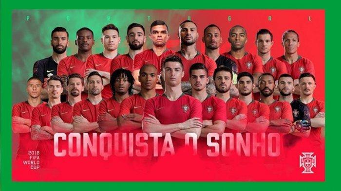 Daftar Skuad Portugal di Euro 2020: Ronaldo Jadi Andalan, Pemain Man United Bikin Lini Tengah Solid