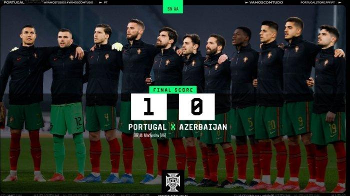 Video Gol Bunuh Diri Pemain Azerbaijan yang Menangkan Portugal