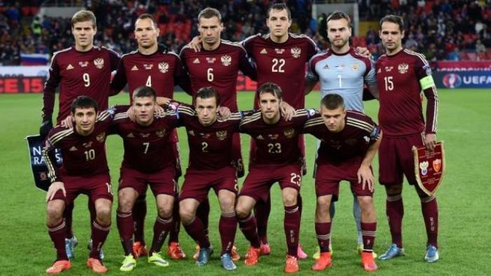 PROFIL SKUAD TIMNAS RUSIA di Euro 2020, Andalkan Pemain Liga Lokal Tetapi Punya Target Tinggi