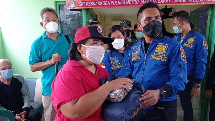 Bantu Tekan Penyebaran Covid-19, Timsus 2 Satresnarkoba Polres Jakbar Dirikan Kampung Tangguh Jaya