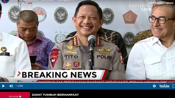 Namanya Masuk Target Pembunuhan 4 Tokoh Nasional, Wiranto Langsung Celetuk Pernyataan Kapolri
