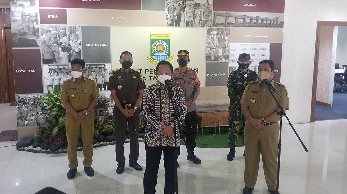 Mendagri Minta Wali Kota Kota Tangerang Bentuk Tim Khusus Tracing Covid-19