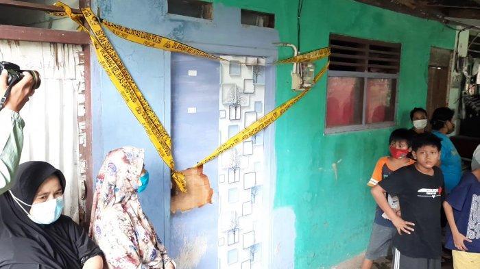 TKP kediaman pelaku mutilasi di Kampung Pulo Gede, RT 05 RW 011, Kelurahan Jakasampurna, Bekasi Barat, Kota Bekasi.