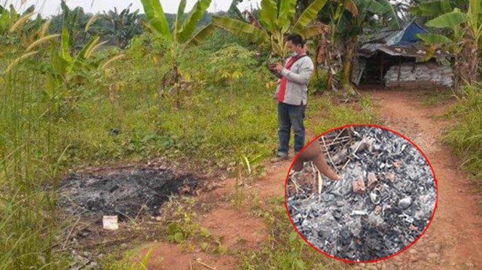 Muslim Temukan Jasad Wanita Terbakar di Kebun Singkong, Ternyata Korban Pembunuhan Pria Sakit Hati