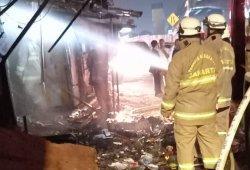 Toko Bunga di Kalimalang Terbakar, Pelakunya Diduga Orang Gangguan Jiwa yang Membakar Sampah