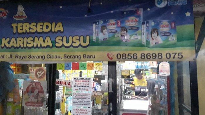 Cerita Penjaga Toko Susu di Cikarang, Gagalkan Aksi Pencurian Uang yang di Simpan di Jok Motor