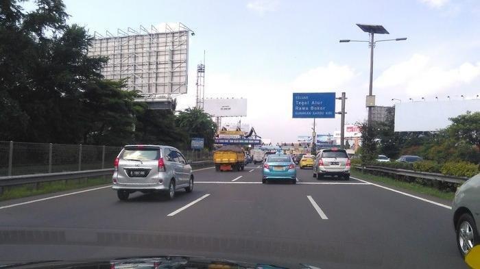 Volume Kendaraan di Jakarta Meningkat 10 Persen Dibanding Pekan Lalu