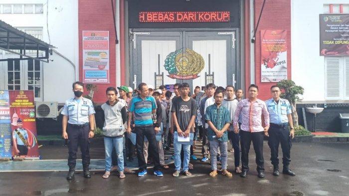 Total 269 Warga Binaan Lapas Pemuda Kelas IIA Tangerang Dibebaskan Bertahap