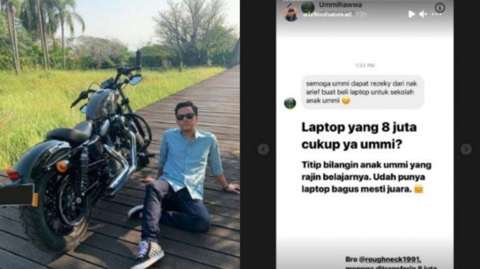 'Ikoy-ikoyan' Tren Berbagi yang Dibuat Arief Muhammad, Uang Jutaan Rupiah Digelontorkan ke Warganet