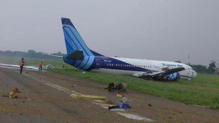 Trigana Air Tergelincir karena Gangguan Mesin, Pengamat Singgung Soal Perawatan Pesawat