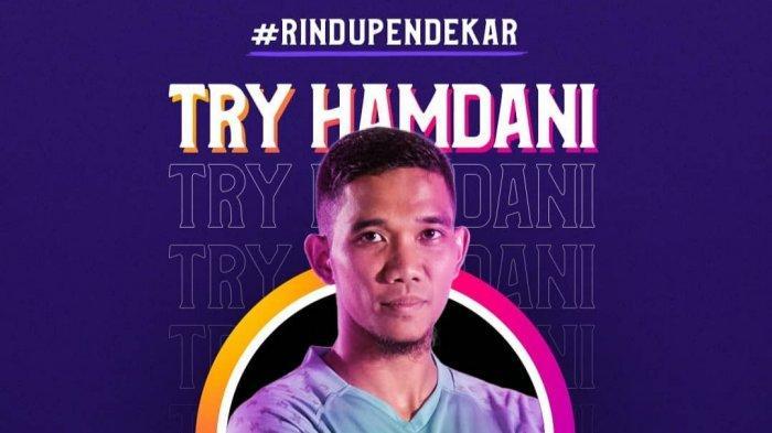 Kiper Persita Tangerang Try Hamdani, Penjaga Gawang Dadakan Hingga Jadi Pemain Profesional