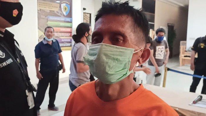 TS (54), kakek yang cabuli cucu tirinya, KO (7), hingga tewas di Pademangan, Jakarta Utara.
