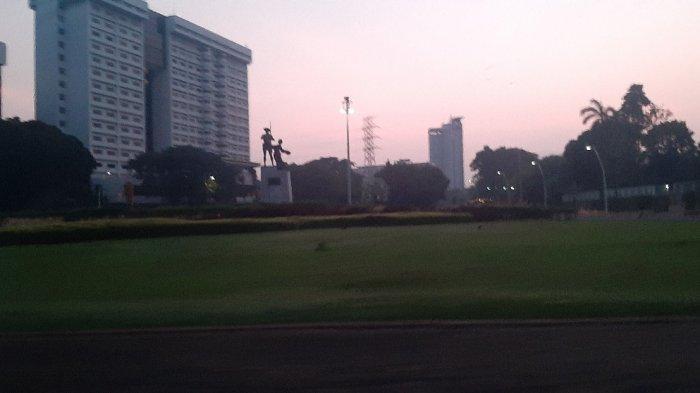 Kawasan Tugu Tani Jakarta Pusat menjadi saksi pembegalan, pada Jumat (7/5/2021) pagi.