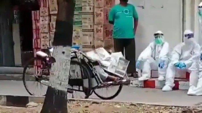 Reaktif Covid-19, Tukang Becak yang Meninggal di Pasar Elang Diduga Alami Gagal Jantung