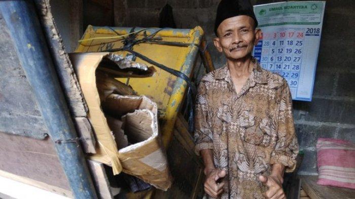 Jubaidi 'Tukang Sampah Jujur' Menangis: Bapak Presiden Justru Cari Saya, Ingin Salaman dan Berfoto