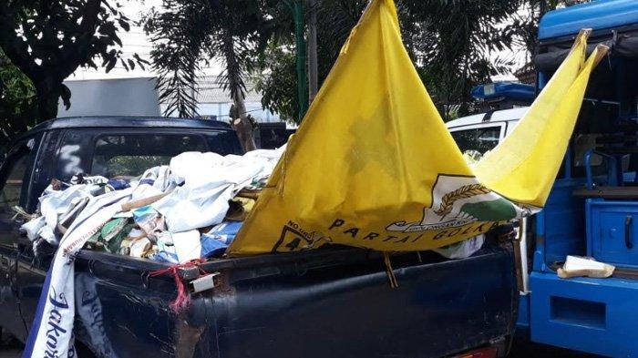 H-1 Pemilu 2019, Bawaslu Jakarta Timur Temukan APK Terpasang Dekat TPS