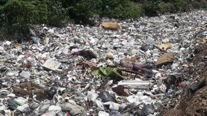 Pertama Kali Terjadi, Panjang Tumpukan Sampah Kali Jambe Tambun Capai 200 Meter