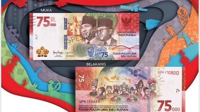 Begini Cara Penukaran Uang Peringatan Kemerdekaan 75 Tahun RI Secara Kolektif