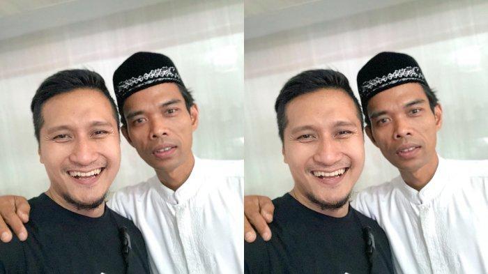 Naik Helikopter Bareng Ustaz Abdul Somad Demi Hijrah Fest, Ternyata Bikin Arie Untung Deg-degan