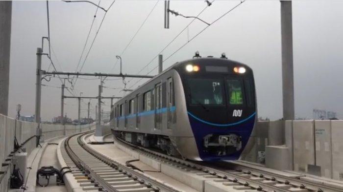 PPKM Mikro Diterapkan, Penumpang Dilarang Berbicara Selama Naik dan di Stasiun MRT Jakarta