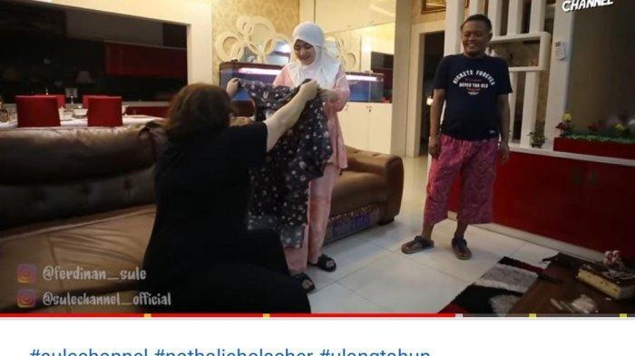 Sule Beri Kejutan Tak Biasa di Ultah ke-28 Istri, Nathalie Holscher Dapat Hadiah Pakaian Ibu Hamil