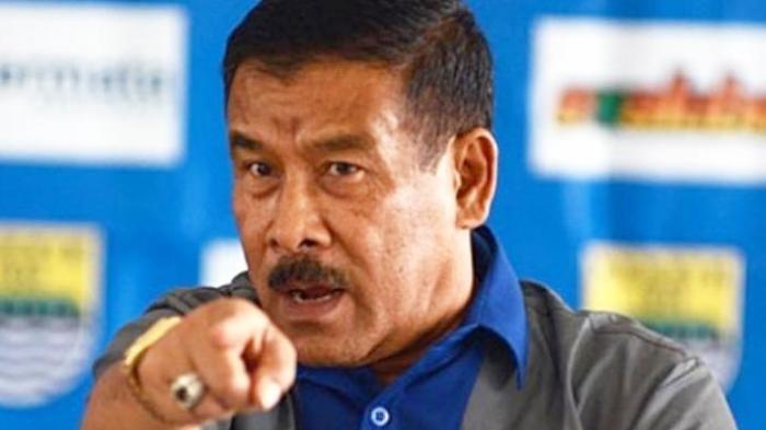 Tak Bisa Fokus Tangani Persib Bandung, Ini Permintaan Maaf Umuh Muchtar